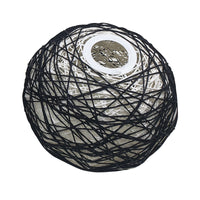 Rope Rattan Woven Pendant Lamp Dome Pendant Light