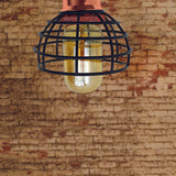 Vintage Pendant Shade Modern Ceiling Retro Lighting Industrial Metal Hemp Ceiling - Vintagelite