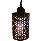Easy Fit Ceiling Pendant Lampshade Industrial Metal Cage Wire Light Shade