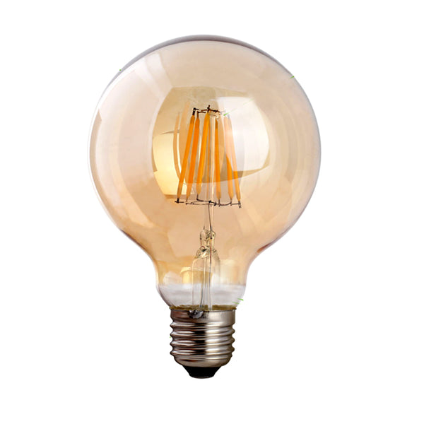 LED G95 E27 8W Dimmable Globe Industrial Vintage Bulb - Vintagelite