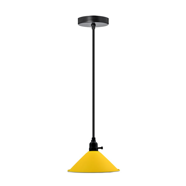 Modern Ceiling Yellow Pendant Light Lamp Shade Chandelier - Vintagelite