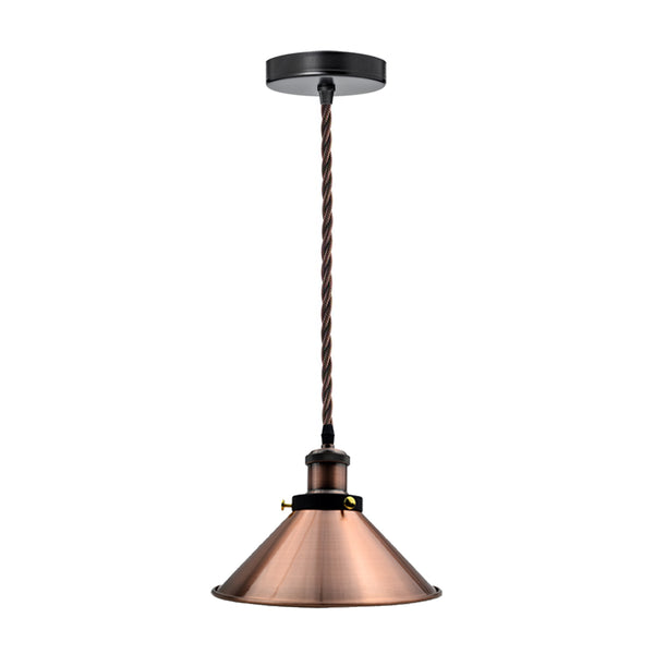 Vintage_Modern_Copper_Ceiling_Light_Pendant_Lamp_Shade