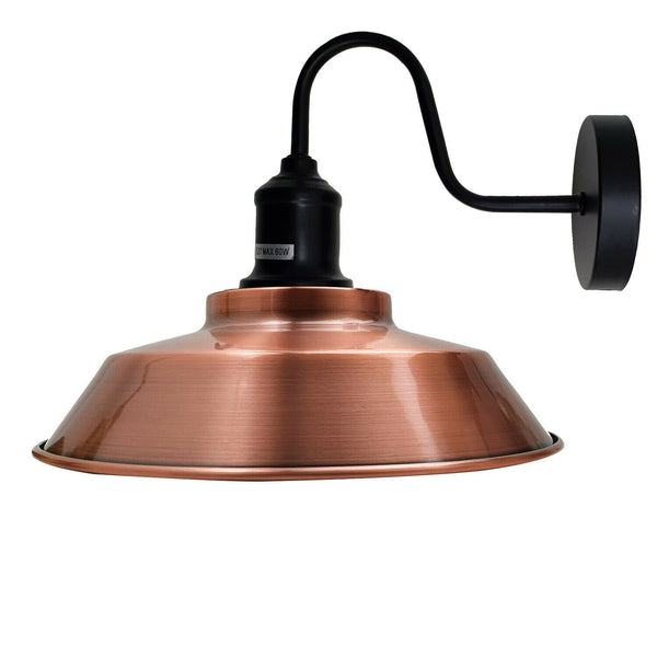 Copper Wall Light Lamp Shade Retro Wall Light Fixtures