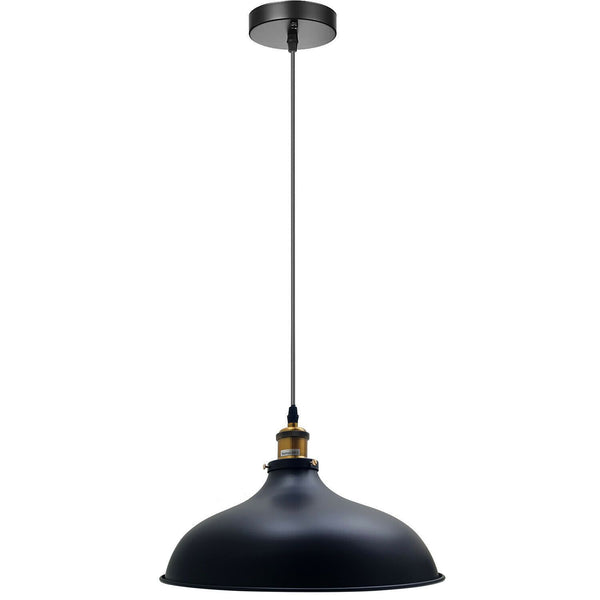 Industrial Pendant Light Black Vintage Hanging Pendant Lights Retro Lamp Fixtures