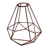 Easy Fit Pendant Light Shade Metal Cage Drum Lampshade Pendant Lamp / Ceiling - Vintagelite