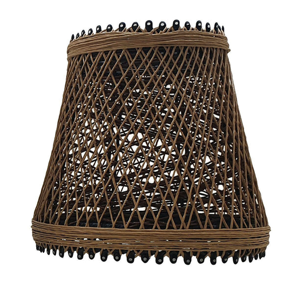 Vintage Nest Bird Cage Woven Rattan Creative Pendant Lights  Lamp Cage