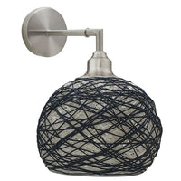 Rattan Lamp Shade Handmade Rattan Wall Lights High Brightness Wall Light