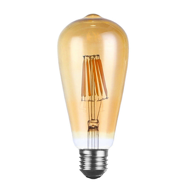 LED ST64 E27 8W Dimmable Globe Industrial Vintage Bulb - Vintagelite