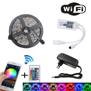 BEYLights LED Strip w/ Remote (16.4ft/5M) (BLUETOOTH/APP)