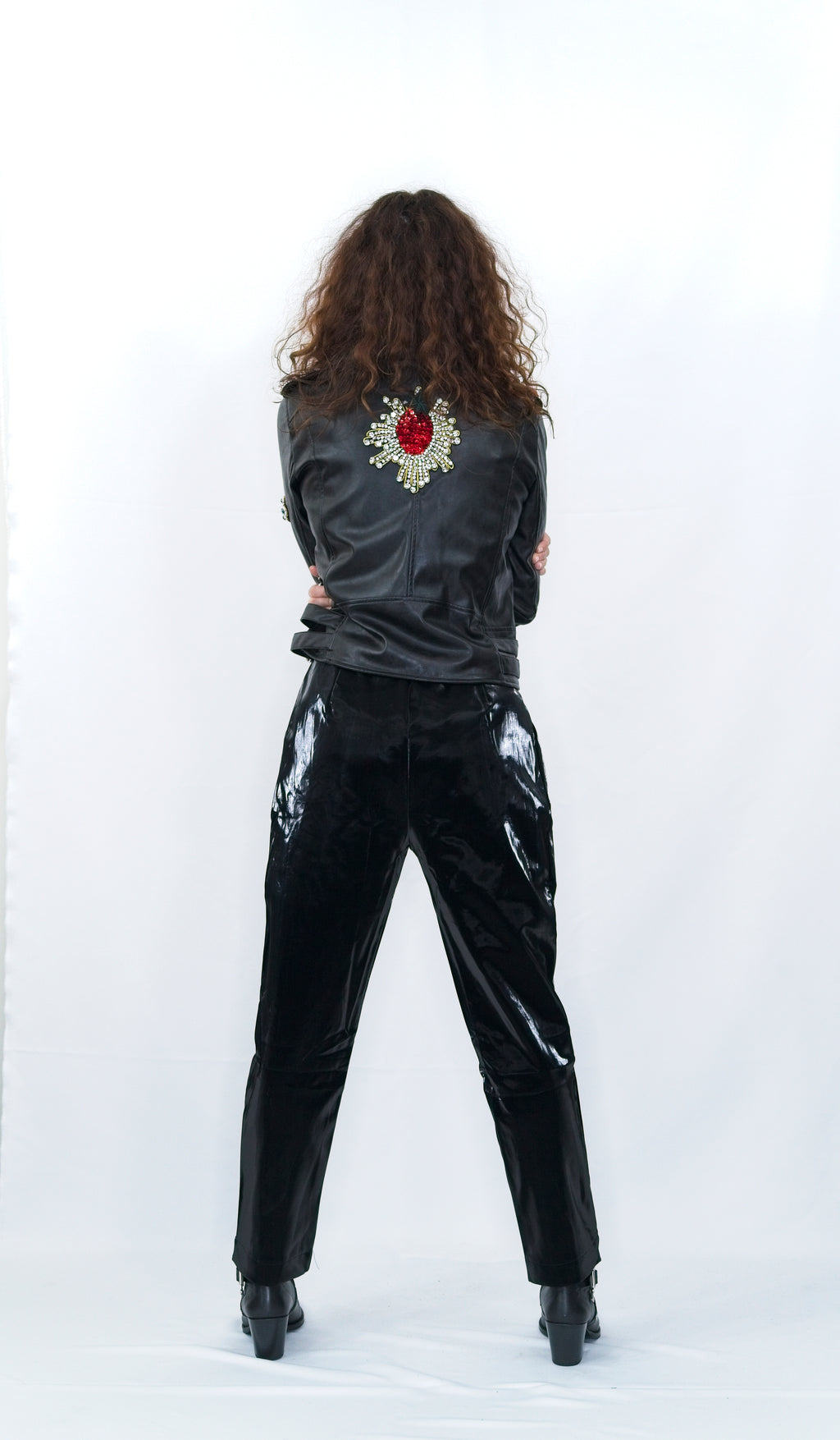 "The ""Rock"" Jacket With Cristal Embroidery"