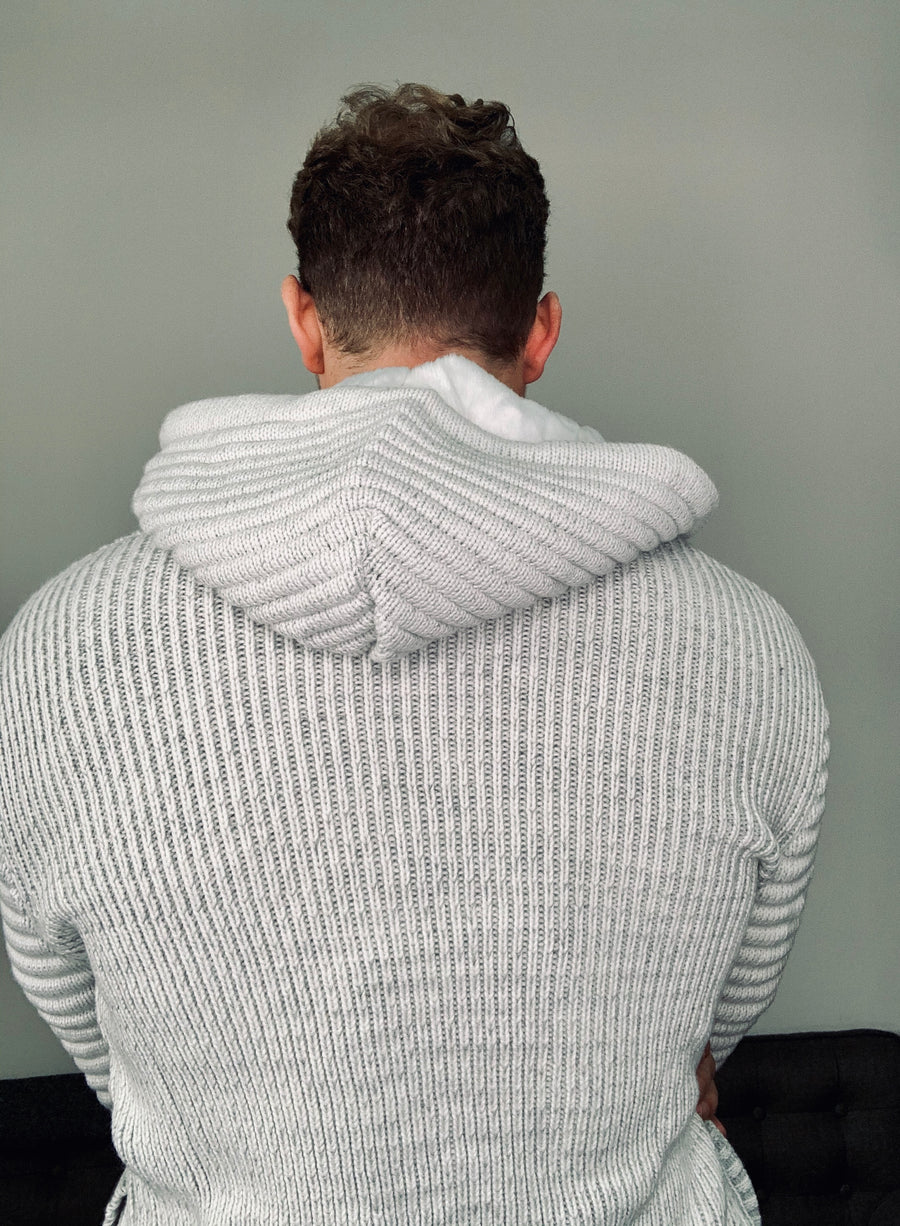 Super Cozy Sweater Jacket Hoody