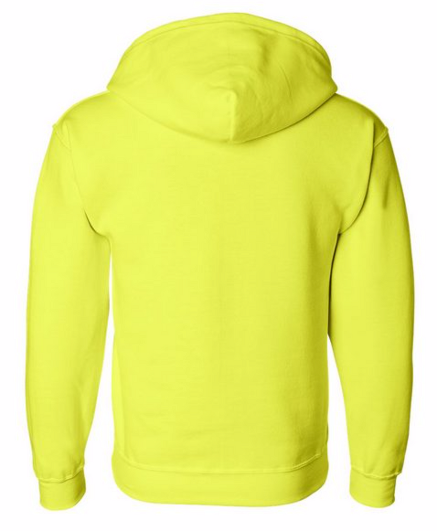 Basic Alex Vinash Hooded Full-Zip Sweatshirt Neon