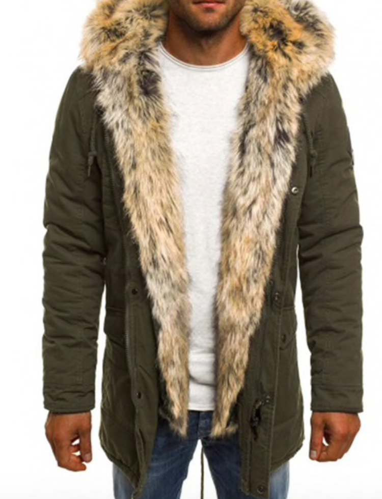 Fall Faux Fur Jacket