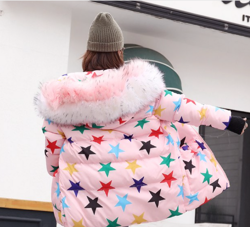 Multi Stars Winter Snow Jacket