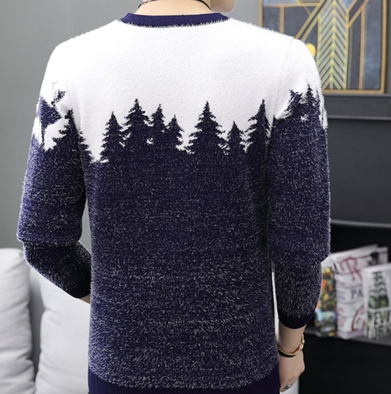 Snow Mountain Sweater