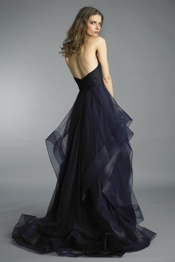 Heart & Tull Long Dress With a Feathered