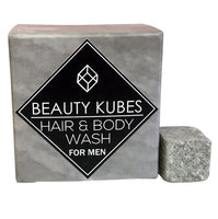Beauty Kubes Plastic Free Shampoo & Body Wash - For Men - Smug Store
