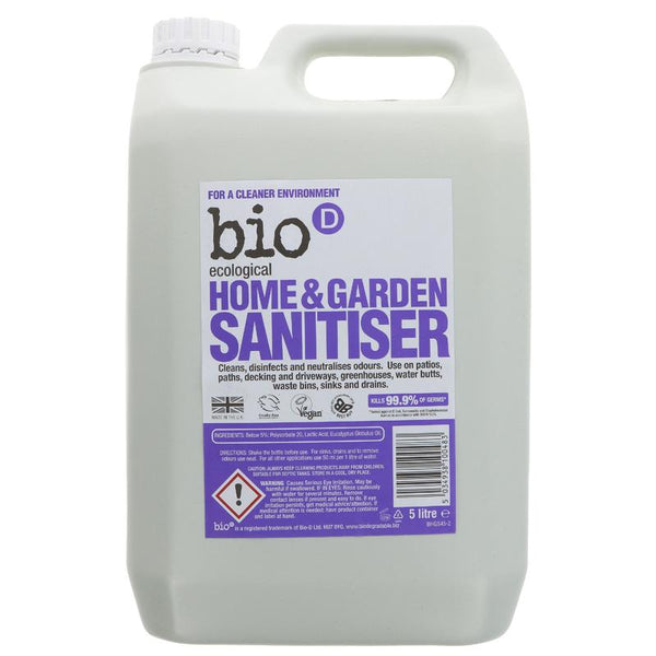 Bio D Home and Garden Sanitiser - 5l - Smug Store
