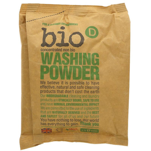Bio D Concentrated Non-Bio Laundry Powder - Fragrance Free - Smug Store