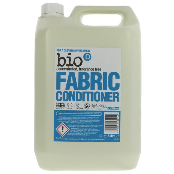 Bio D Fabric conditioner - Fragrance Free 5l - Smug Store