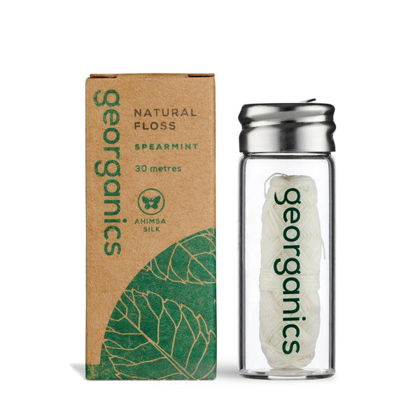 Georganics Natural Dental Floss - Spearmint - Smug Store