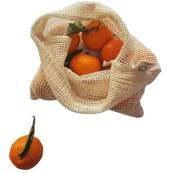 GOTS Organic Cotton Mesh Produce Bag - Medium