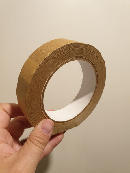 Paper Kraft Tape - Self Adhesive - 25mm x 50m - Smug Store
