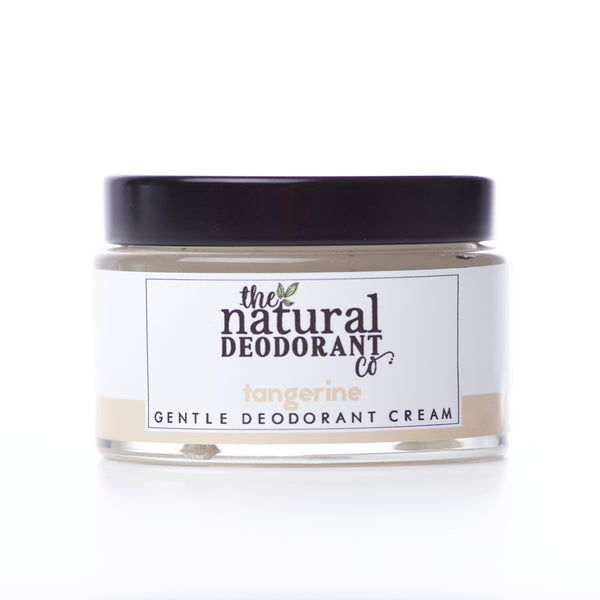 The Natural Deodorant Co.  Deodorant Cream - Gentle Tangerine 55g - Smug Store