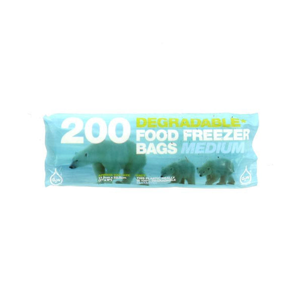 D2w Degradable Freezer Bags - Medium or Large - Smug Store