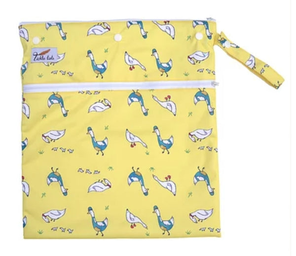 Tickle Tots Wet Bag - Dizzy Ducks - Smug Store