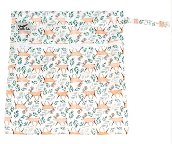 Tickle Tots Wet Bag - Stags - Smug Store