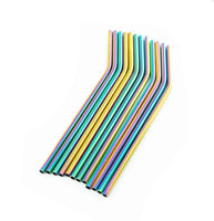 Stainless Steel Drinking Straw - Rainbow - Smug Store