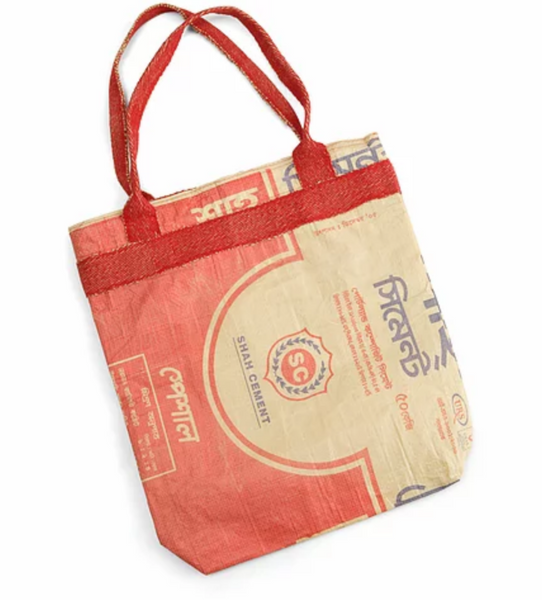Turtle Bags Recycled Cement Bag - Red - Smug Store