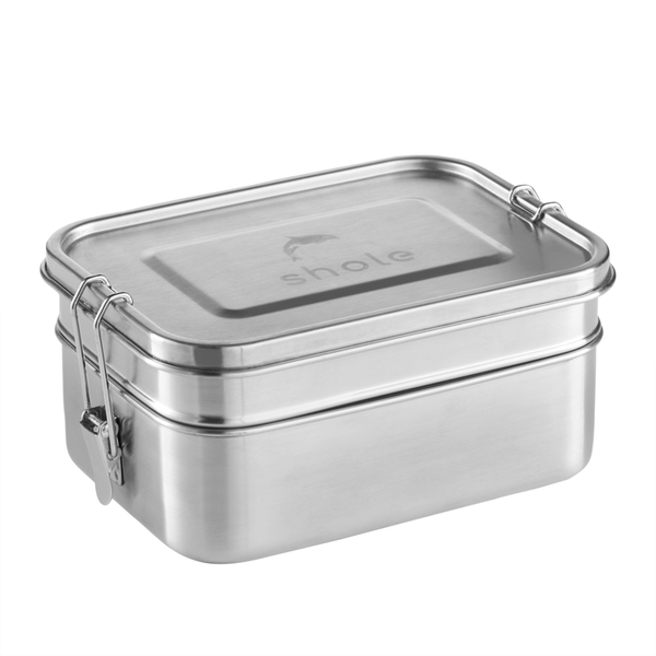 Shole Double Layer Stainless Steel Lunch Box