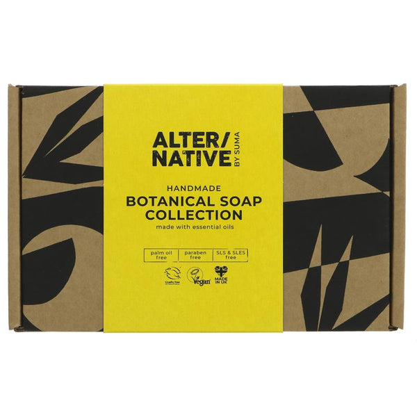 Alter/Native Gift Box - 4 Botanic Soap Bars - Smug Store