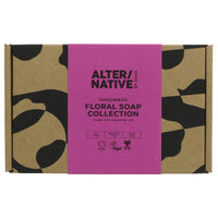 Alter/Native Gift Box - 4 Floral Soap and Shampoo Bars - Smug Store