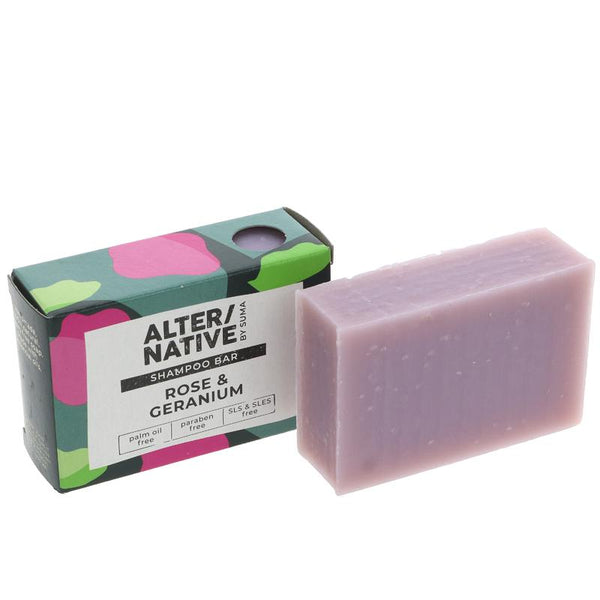 Alter/Native Rose & Geranium Shampoo Bar - Smug Store