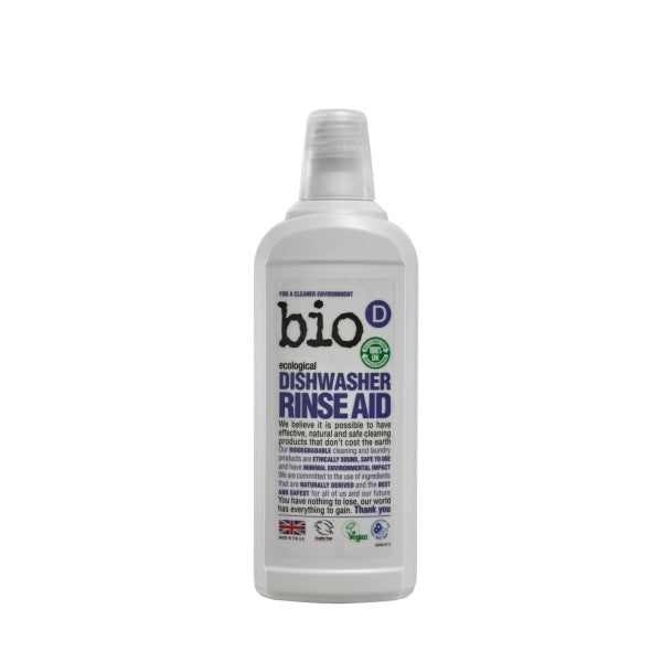 Bio-D Dishwasher Rinse Aid – 750ml - Smug Store
