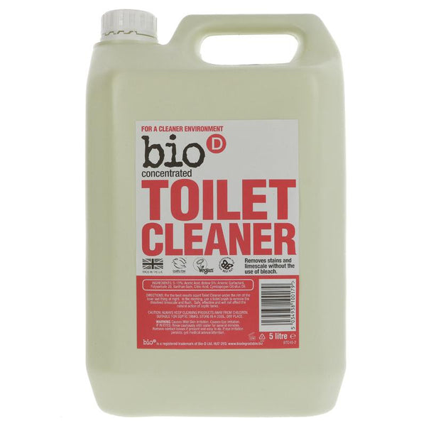 Bio D Concentrated Toilet Cleaner 5l - Hypoallergenic - Smug Store