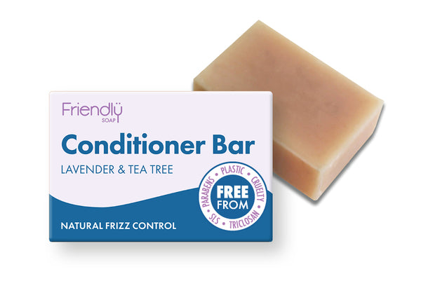 Friendly Soap Natural Solid Conditioner Bar - Lavender & Tea Tree - Smug Store