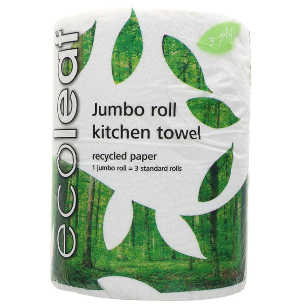 Ecoleaf Jumbo Kitchen Roll - Smug Store