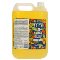 Faith in Nature Grapefruit & Orange Body Wash - Bath or Shower - 5l - Smug Store