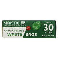 Maistic 30l Compostable Bin Bags - Smug Store