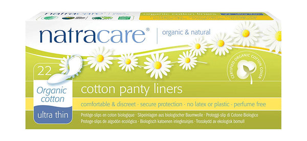Natracare Biodegradable Plastic Free Pantyliners - 22 Ultra Thin - Smug Store