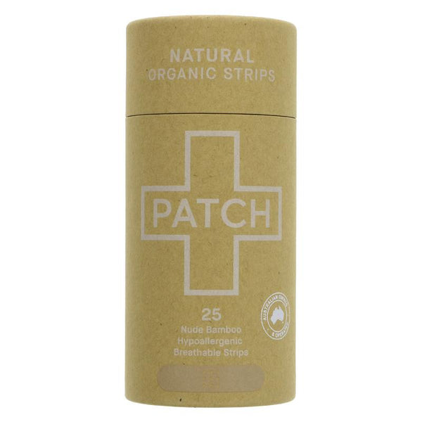 Patch Biodegradable Bamboo Plasters - Box of 25, Hypoallergenic - Smug Store