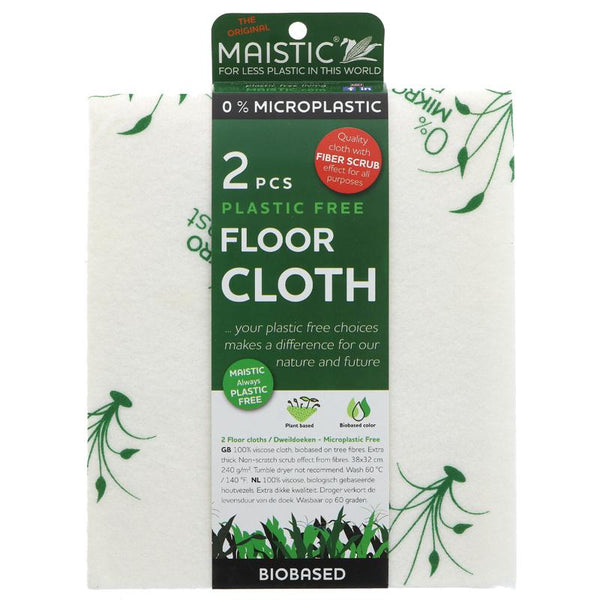 Maistic Plastic-Free Floor Cloths - Pack of 2 - Smug Store