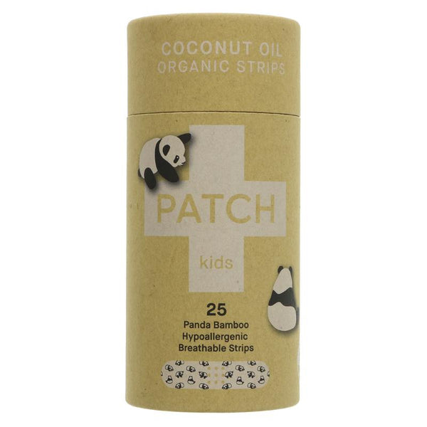 Patch Biodegradable Bamboo Plasters for Kids - Box of 25, Hypoallergenic - Smug Store