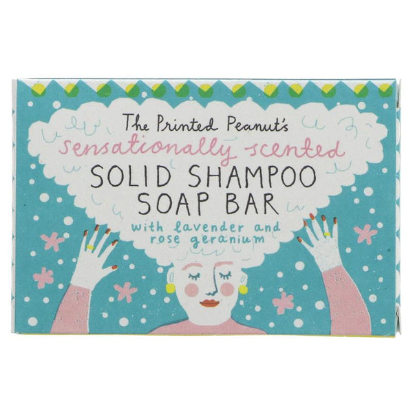 The Printed Peanut Solid Shampoo Bar - Smug Store