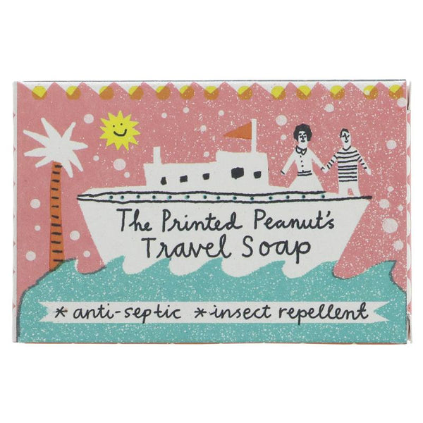 The Printed Peanut Insect Repelling Travel Soap - Smug Store