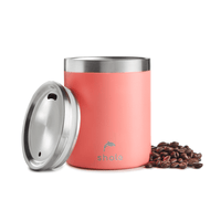 Shole 12oz Double Wall Coffee Cup - Coral - Smug Store